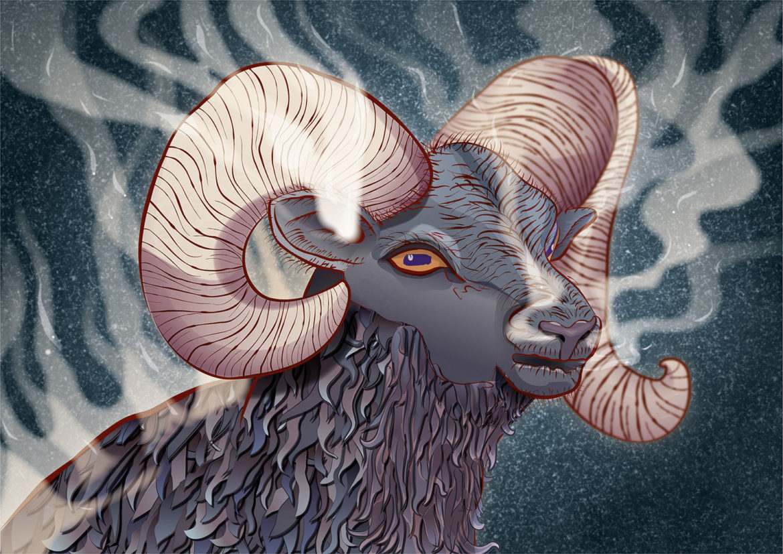 Digital Art: Aries, Adobe Illustrator