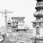 Flakturm Haus des Meeres in schwarz/weiß | Platinum Pen | 20. August 2019