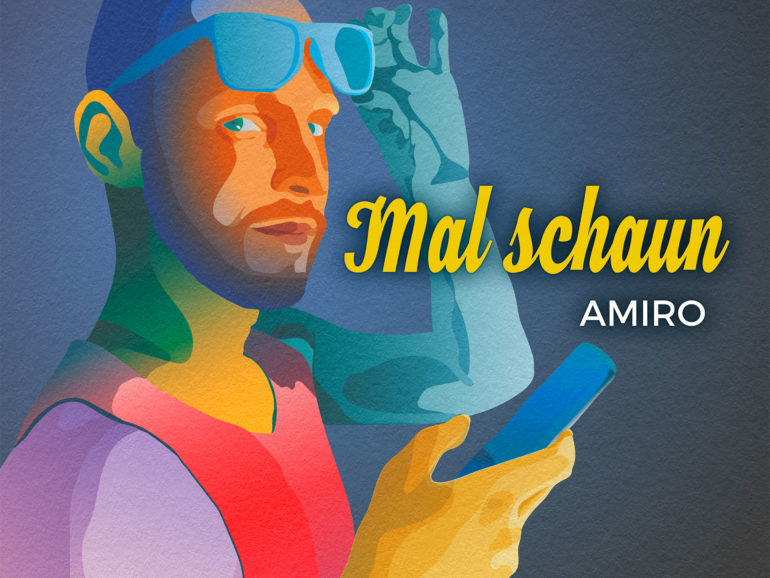 Album Cover: Mal Schaun, Amiro, Adobe Illustrator